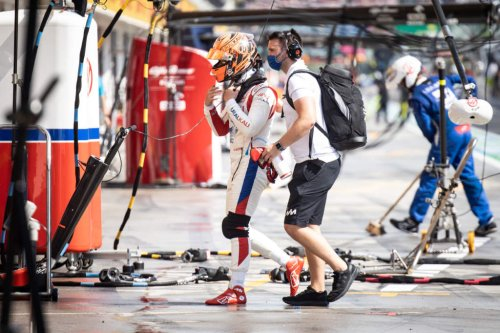 What caused Raikkonen and Mazepin's pitlane collision - The Race