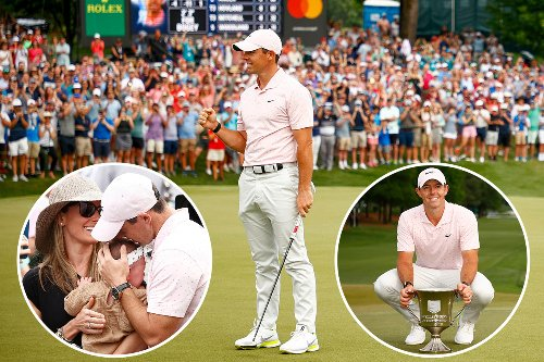 Rory McIlroy wins Wells Fargo Championship to end 553-DAY wait for a title