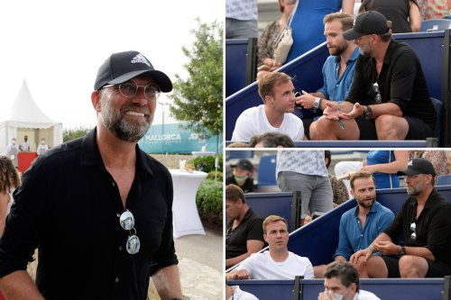 Gotze spotted with Klopp at Mallorca Open after confirming Liverpool interest