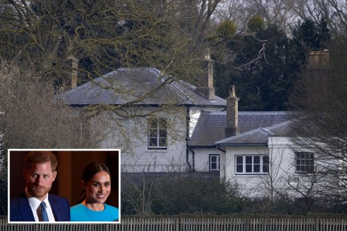 Harry and Meghan paid for £2.4m Frogmore Cottage refurb AND 18 months' rent