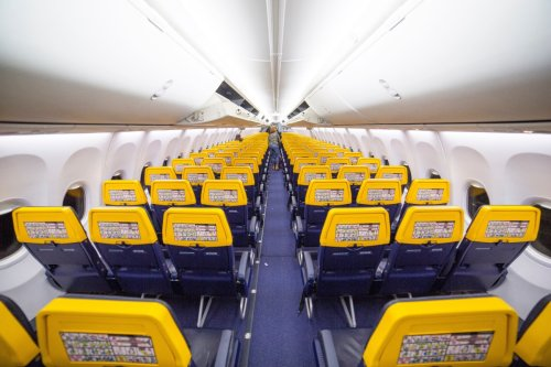 Ryanair reveals best seats for legroom and getting some sleep on their planes