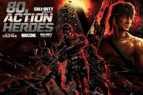 Call of Duty teases playable 80s action heroes coming soon to Warzone