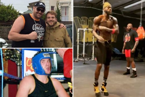 Fury still stays with pals in 'Torquay's roughest area' where he used to train