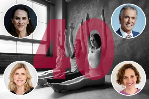Beat mid-life health crisis with 40 ways to stay fit at forty
