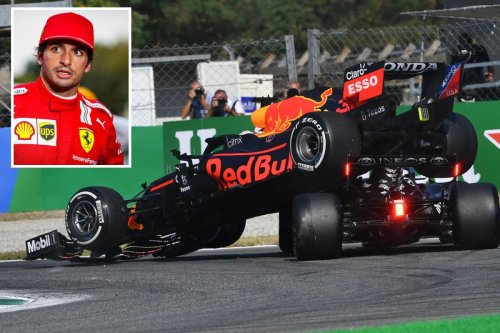 Carlos Sainz says 'pretty clear' who to blame for Hamilton and Verstappen crash