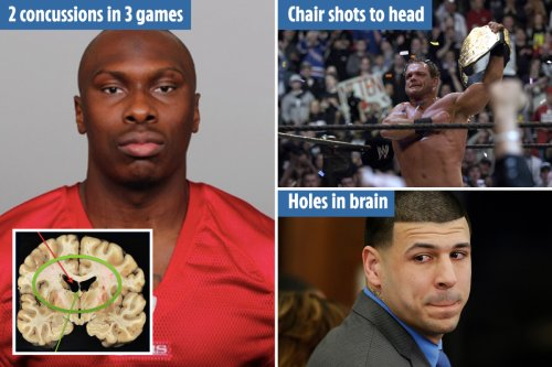 Brain disease blamed for massacres after concussions 'turned stars into killers'