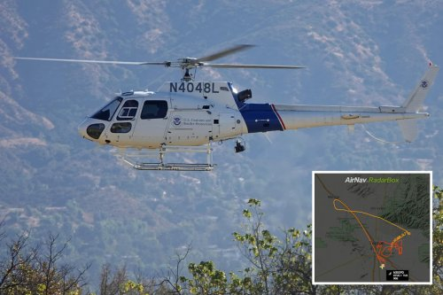 UFO that entered Arizona air space 'flew at 100mph and outran police chopper'