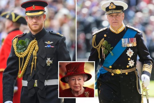 Harry & Andy's 'shameful uniform tantrums' 'unhelpful' for Queen, say experts