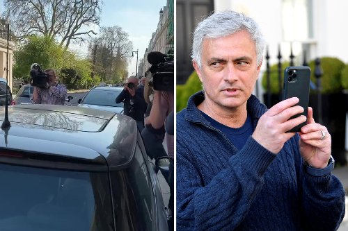 Jose unloads car of Tottenham mementos as he breaks silence after sacking