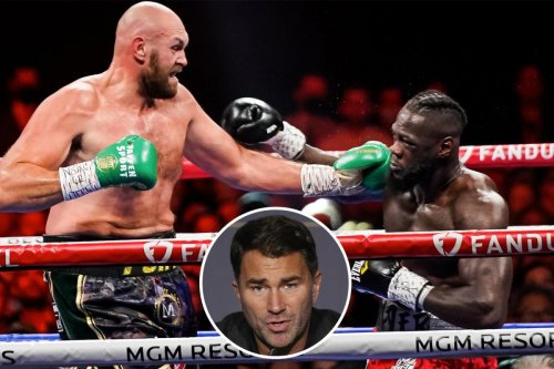 Hearn rages Fury CAN'T be an all-time great after fighting Wilder for years