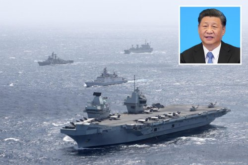 Britain branded 'BI*TCH' by China as UK warship sails in disputed sea