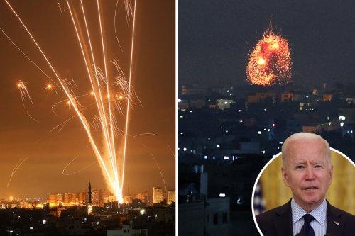 Biden says Israel's Gaza bombing blitz was NOT 'overreaction