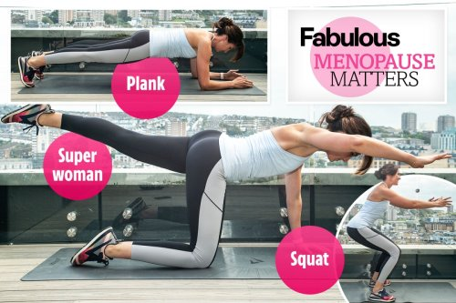 Your ultimate menopause workout and 9 lifestyle hacks to help ease your symptoms