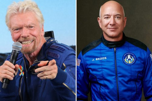Wacky theory UFOs could be billionaires visiting explodes after Bezos trip