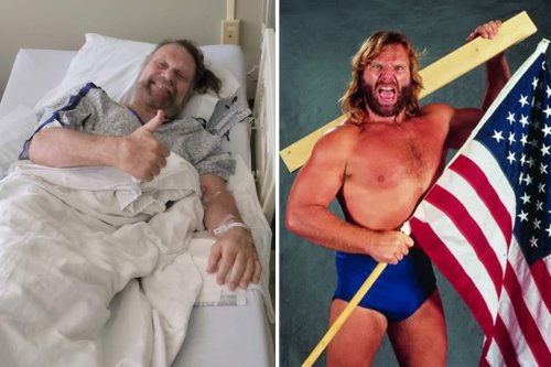 WWE legend Duggan, 67, out of emergency surgery and as he gives fans thumbs up