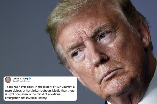 Trump blasts the media as the most 'vicious and hostile in history'