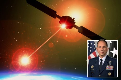 US spy satellites 'could be targeted with giant high-powered LASERS on boats'