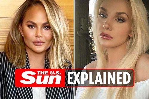 What did Courtney Stodden accuse Chrissy Teigen of?