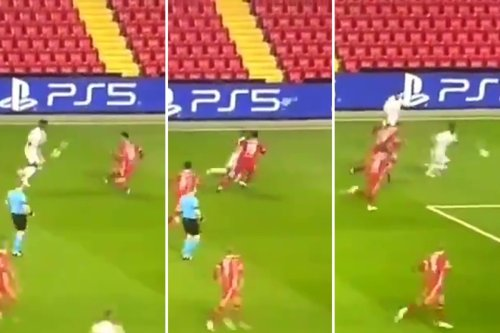 Watch Vinicius Jr 'destroy Kabak's career' with insane skill