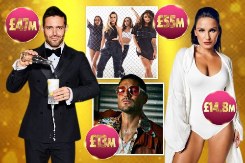 From Little Mix to Sam Faiers, meet the biggest TV earners of 2021