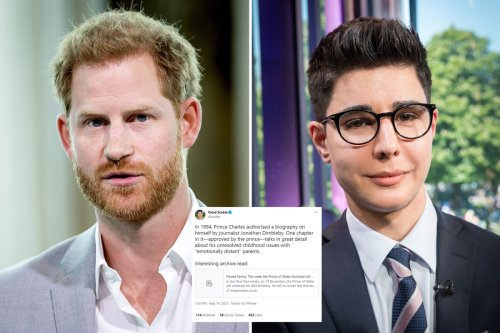 Harry's pal shares pointed tweet on Charles' 'unresolved childhood issues'