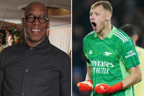 'He is the No1, without any doubt' - Ian Wright lauds Arsenal keeper Ramsdale