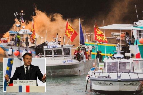 French fishermen demand Macron CUT POWER to Jersey after UK drives off blockade