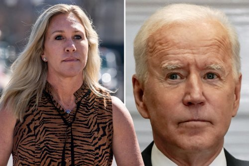 QAnon Rep says Biden is 'funding TERRORISM' with 'outrageous' payout