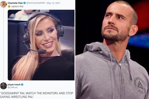 WWE legend CM Punk takes subtle dig at Vince McMahon as he replies to Charlotte Flair social media post