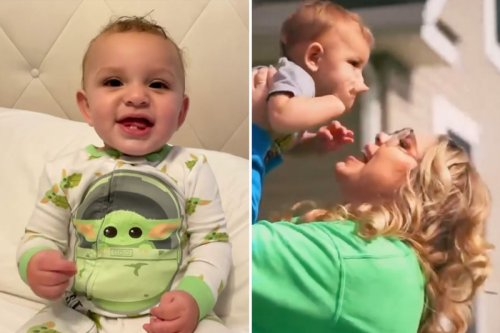 Teen Mom Kailyn dresses son up in Yoda onesie after fans question his skin color