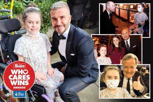 Youngest Who Cares Wins winner captures hearts of Wills, Piers, Becks & Boris