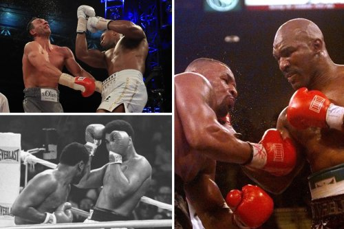 Greatest-ever heavyweight boxing fights from Holyfield vs Tyson to Ali vs Frazier