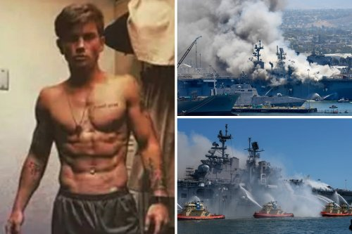 Seal dropout who 'hated Navy' is arrested over ship blaze that hurt 71