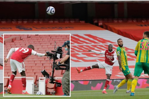 Watch Nicolas Pepe's incredible piledriver to double Arsenal's lead vs West Brom