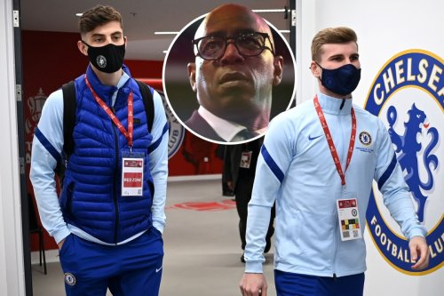 Ian Wright slams Chelsea players for wearing tracksuits before FA Cup final