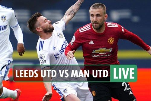 Leeds vs Man Utd LIVE: Follow all the latest from Premier League clash