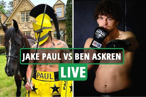 Jake Paul vs Ben Askren LIVE UNDERCARD: Ring walks UK, stream Fite TV, channel as YouTube star fights MMA ace