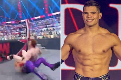WWE abandon match as Humberto Carrillo suffers sickening injury against Sheamus