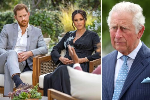 Charles was 'knocked to the ground with several punches' with Harry's Oprah chat