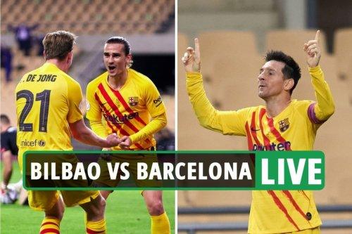 Barcelona vs Athletic Bilbao LIVE: Latest updates from Copa del Rey final
