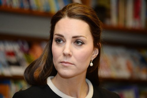 Rare moment Kate 'rolled her eyes' & lost composure after being scolded at event