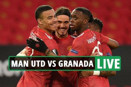 Man Utd vs Granada LIVE: Follow all the latest from Europa League clash