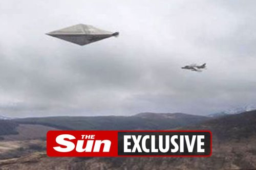 US must release 'best ever photo' of UFO showing 100ft craft over Scotland after 'UK cover up', says investigator
