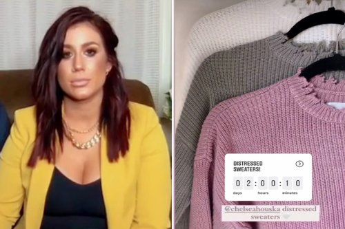 Teen Mom fans slam Chelsea ripped 'itchy' sweaters from new clothing line