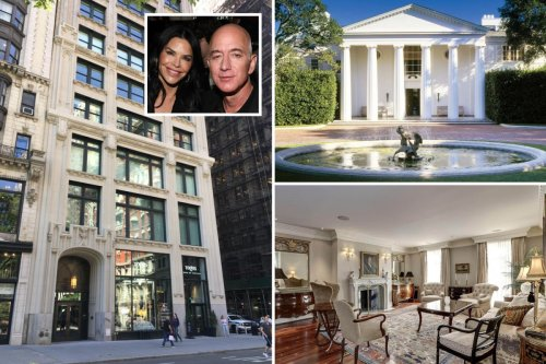 Jeff Bezos' incredible homes - from $165m LA mansion to space station ranch