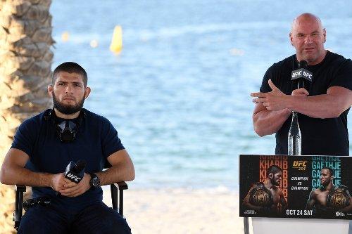 Khabib ends Dana White's hopes of spectacular UFC return after GSP revelation