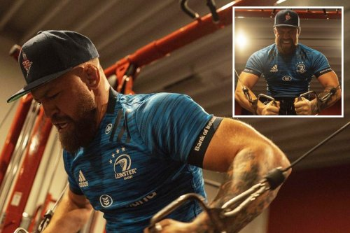 McGregor boasts 'my power is up over 50 PER CENT' after lifting 'heavy weights'