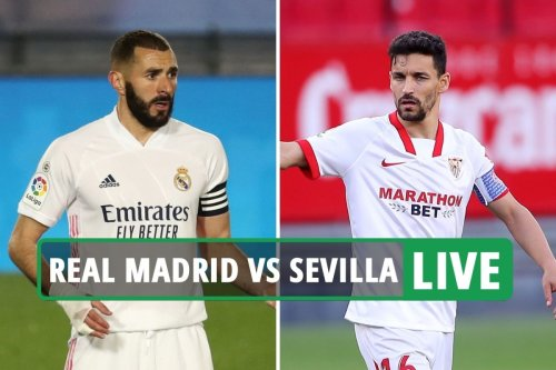 Real Madrid vs Sevilla LIVE: Follow all the latest from huge La Liga clash