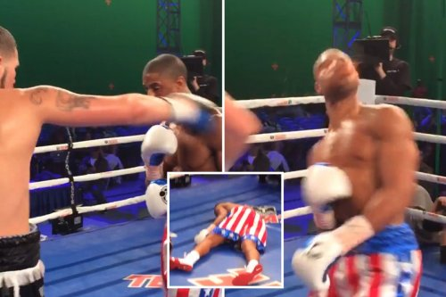 Bellew KO'd Michael B Jordan while filming CREED movie but actor wasn't out cold