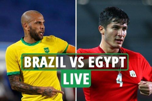 Brazil vs Egypt LIVE: Latest updates from Olympic football quarter-final